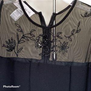 Jones Wear Dresses - Vintage Jones Wear Black Sheath Dress